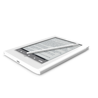 Sony Reader PRS-350 PNG & PSD Images