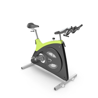 Body Bike Classic Supreme Green PNG & PSD Images
