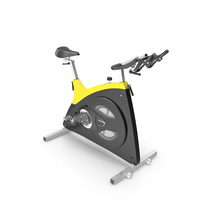 Body Bike Classic Supreme Yellow PNG & PSD Images
