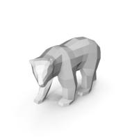Polar Bear Papercraft PNG & PSD Images