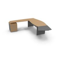 Corner L Shaped Desk PNG & PSD Images