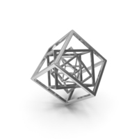 Cube in Cube Silver PNG & PSD Images