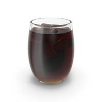 Cola Glass With Ice PNG & PSD Images