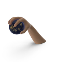 Hand Grabbing Tiny Night Earth PNG & PSD Images
