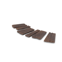 Stylized Wooden Pathway PNG & PSD Images