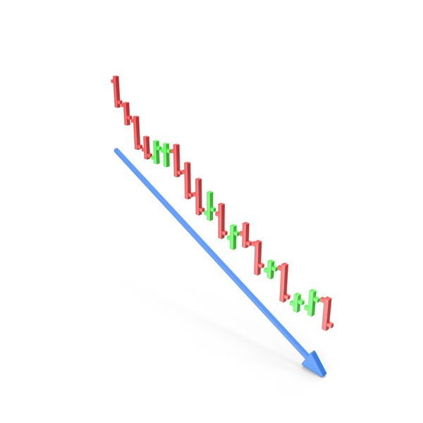 Stock Chart Downtrend PNG & PSD Images