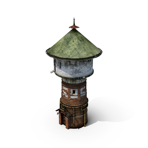 Fantasy Water Tower PNG & PSD Images