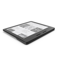 Kindle Oasis PNG & PSD Images
