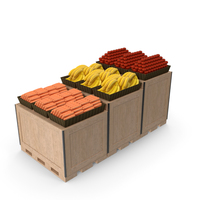 Box For Vegetables PNG & PSD Images