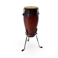 Meinl Marathon Conga with Basket Stand Dark PNG & PSD Images