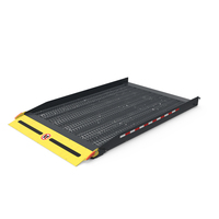 Metal Ramp for Support Wheelchair PNG & PSD Images