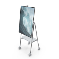 Microsoft Interactive Whiteboard Surface Hub 2 PNG & PSD Images
