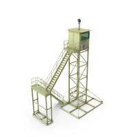 Military Observation Tower PNG & PSD Images
