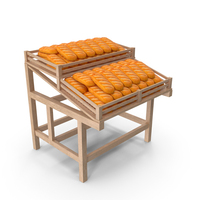 Rack with Bread PNG & PSD Images