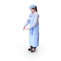 Worker Woman PNG & PSD Images