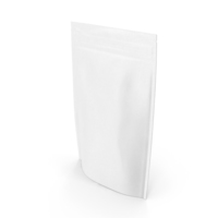 Zipper White Paper Bag 200g PNG & PSD Images