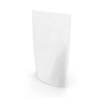 Zipper White Paper Bag 220g PNG & PSD Images