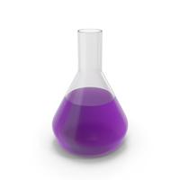 Alchemical Flask Medium Violet PNG & PSD Images