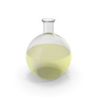Alchemical Flask Big Yellow PNG & PSD Images