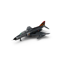 Turkish Air Force F-4E Phantom II Terminator PNG & PSD Images