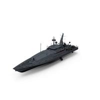 HMAS Broome ACPB 90 Patrol Boat PNG & PSD Images