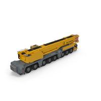 Mobile Crane Liebherr PNG & PSD Images