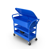 Mobile Parts Washer Cart PNG & PSD Images