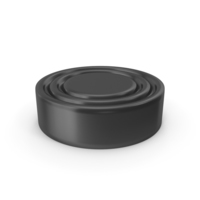 Checkers Piece Black PNG & PSD Images