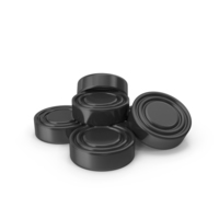 Checkers Pieces Black PNG & PSD Images