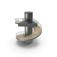 Modern Round Stairs PNG & PSD Images