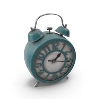 Alarm Clock Blue PNG & PSD Images