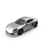Porsche 718 Cayman PNG & PSD Images