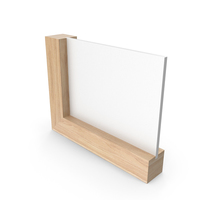 Wooden Frame Calendar Light Wood Clean PNG & PSD Images