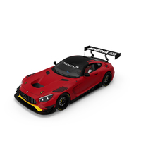 Mercedes AMG GT3 Generic PNG & PSD Images