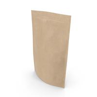 Zipper Kraft Paper Bag 500g PNG & PSD Images