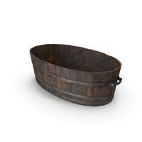 Wooden Bath PNG & PSD Images