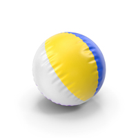 Beach Ball Colorful PNG & PSD Images