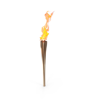 Olympic Torch with Fire PNG & PSD Images