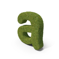 Grass Small Letter A PNG & PSD Images