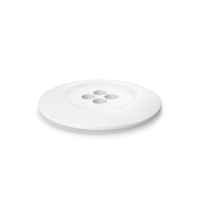 Cloth Button White PNG & PSD Images