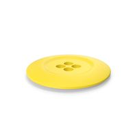 Cloth Button Yellow PNG & PSD Images