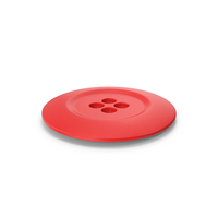 Cloth Button Red PNG & PSD Images