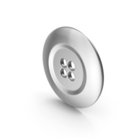 Ring Cloth Button Silver PNG & PSD Images