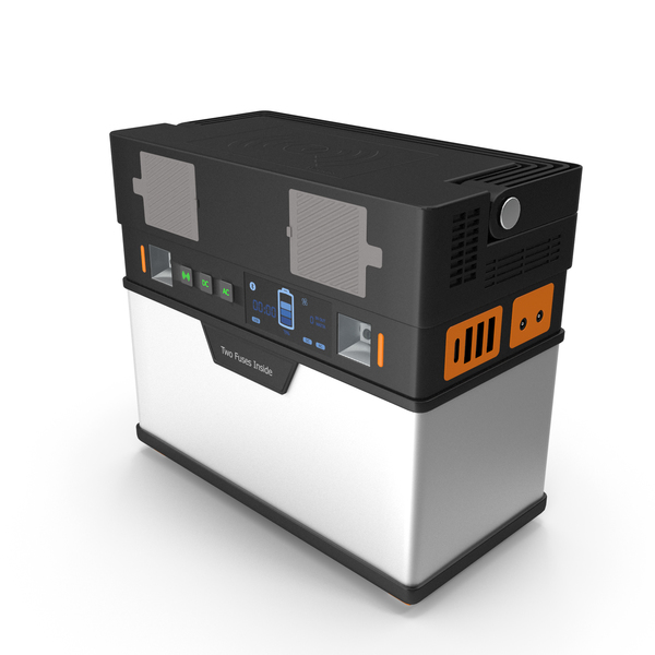Portable Power Station PNG & PSD Images