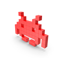 Space Invader PNG & PSD Images