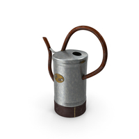 Vintage Watering Can PNG & PSD Images