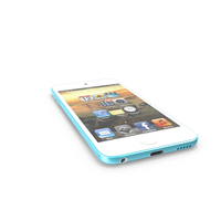 Ipod Touch 5 Blue PNG & PSD Images