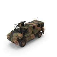MPV 4x4 Bushmaster Camo PNG & PSD Images