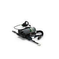 MSA G1 SCBA Respiratory Equipment Set PNG & PSD Images