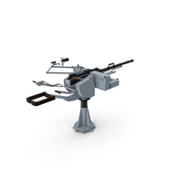 MTPU 14 5 mm Marine Machine Gun PNG & PSD Images